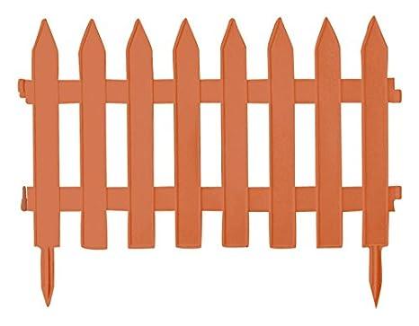 Steccato Giardino Plastica : Staccionata steccato bordure recinzione in resina garden classic