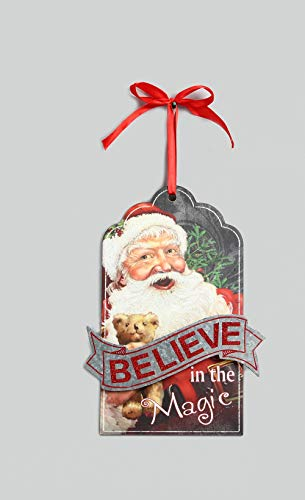 youngs Vintage Santa Claus Hang Tag
