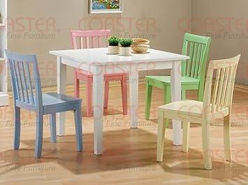 Multi Color 5 Piece Kid Table Set   Coaster 460235