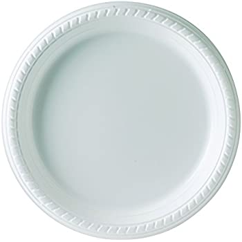 Solo PS95W-0099 9 in White Plastic Plate (Case of 500)  sc 1 st  Amazon.com & Amazon.com: Dart 9PWF 9 in White Plastic Plate (Case of 500 ...