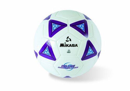 Mikasa SS50-P  Serious Soccer Ball (Purple/White, Size 5)