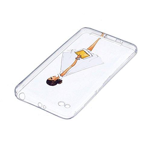 Funda para Xiaomi Redmi 4A , IJIA Transparente Colorido Plumas Bird TPU Silicona Suave Cover Tapa Caso Parachoques Carcasa Cubierta para Xiaomi Redmi 4A (5.0) HX31