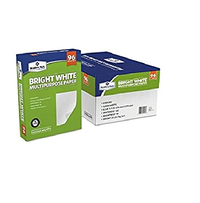 Multipurpose Paper by Member's Mark Bright White with 96 Brightness, 8.5 x 11, 8 Reams, Great for Home or Office (4)