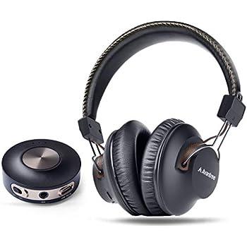 Amazon com: Sennheiser RS120 On-Ear Wireless RF Headphones with