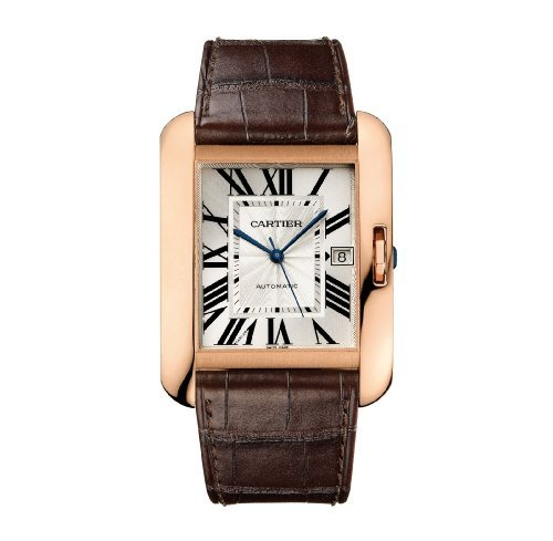 Cartier Tank Anglaise XL Rose Gold Automatic Watch Watch - W5310004