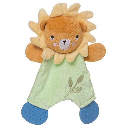 Manhattan Toy Safari Lion Baby Lovie Snuggle Toy and Teether