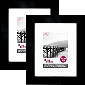 Wide Picture Frame Black Set Of 2 8 X10 Black By Better Homes And Gardens