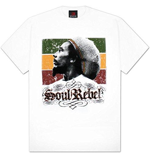 (Bob Marley - Soul Rebel T-Shirt Size M)