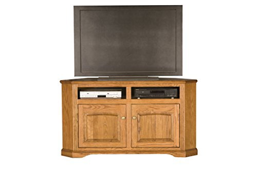 Eagle 93744WPLT Oak Ridge Corner Entertainment Console, 56