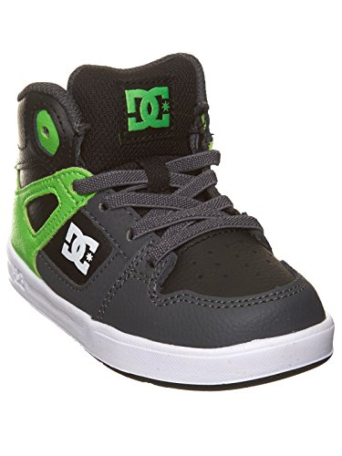 Chaussures pour Bambins DC Rebound UL Vert-Gris-Blanc