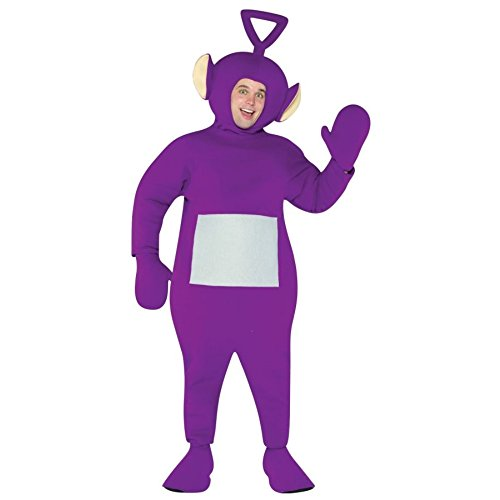 Teletubbies Tinky Winky Adult Costume (2)