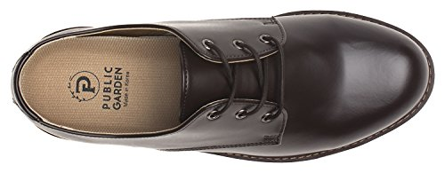 Agos Hombres Llanura Oxford Walk Comfort Loafer Zapatos De Vestir Casuales Mate Marrón