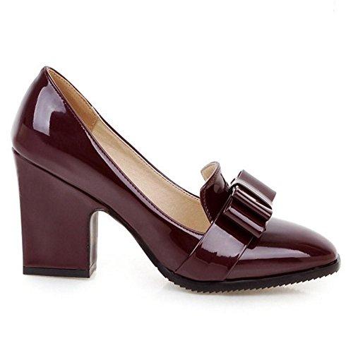 Court Women Claret COOLCEPT On Shoes Slip tqFwdZ
