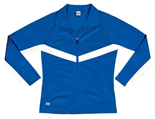 Zoe Athletics Voyager Jacket ROY/WHT -