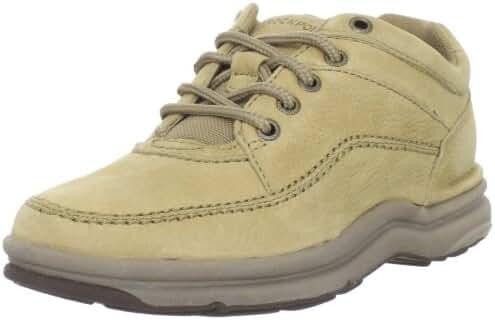 Rockport Men's World Tour Classic Walking Shoe,Sand Nubuck,11.5 XW US