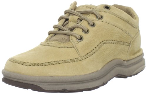 Rockport Men's World Tour Classic Lace-Up,Sand Nubuck,6.5 M US