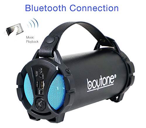 Boytone BT-38BL Portable Bluetooth Indoor/Outdoor Speaker 2.