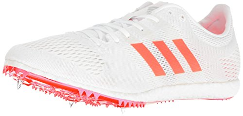 i Track Shoe, White/Infrared/Metallic/Silver, 9.5 M US ()