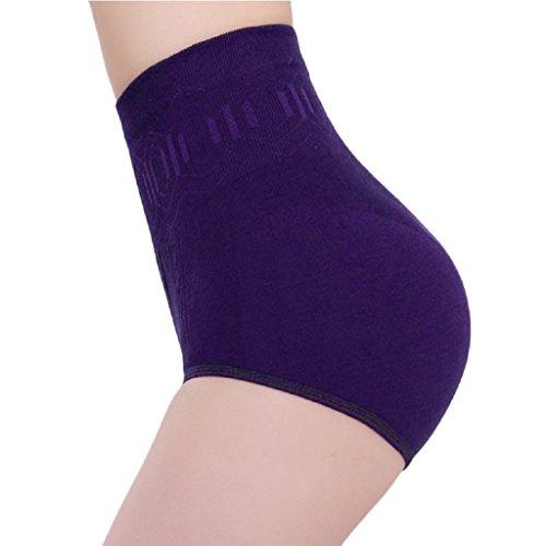 Courts MEIbax Violet Slips Shorties Taille Ventre Haute Femme Body Sexy Model Minceur Pantalons Femme Contrôle 4q1fq