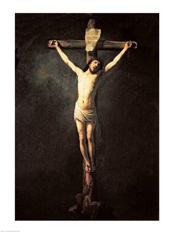 Christ on the Cross Poster Print by Rembrandt van Rijn (18 x 24)