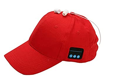 Bluetooth Baseball Cap, 4.2 Wireless Baseball hat Sun Hat Sports Outdoors Headphone HD stereo Headset hat Earphone Call Speaker Hat Speakerphone Cap Built-in mic FENGMAN