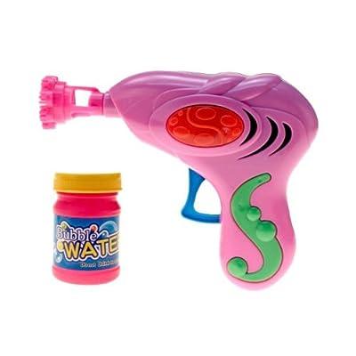 'Pistolet à Bulle De Savon mécanique en plastique avec recharge., pas besoin de pille A l''occasion d''un goûter d''anniversaire, d''une kermesse ou simplement pour le plaisir, offrez aux enfants ce pistol