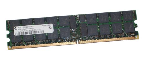 4GB (2X 2GB) Infineon HYS72T256220HR-5-A 2Rx4 PC2-3200 Server Memory Modules Cl3 Ecc Sdram Memory