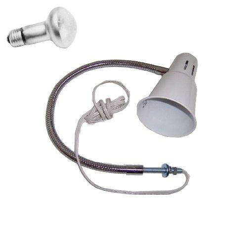 2 sets Sewing Machine gooseneck Lamp + 110V light bulb, with 21'' Bendable gooseneck (no plug)