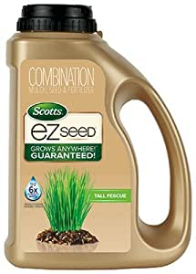 Scotts – Fertilizante para césped 17511 Césped constructor EZ semillas Tall Fescue césped, 3.75-lbs.