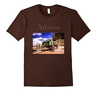 Men's Arizona Wild West Wagon T-Shirt 3XL Brown