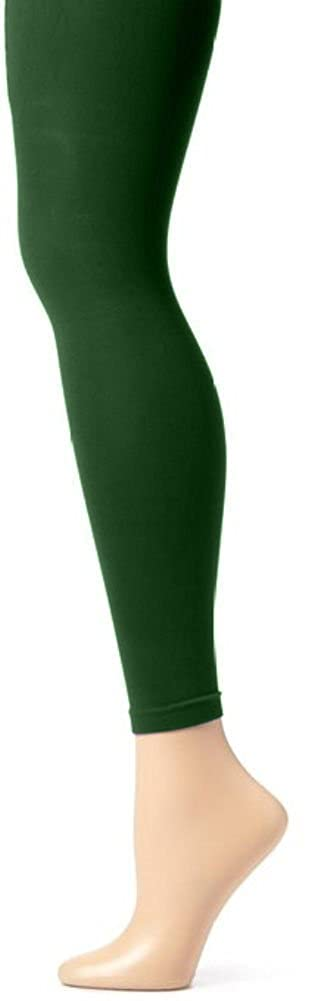 Butterfly Hoseiry Girls Solid Colored Seamless Opaque Footless Tights