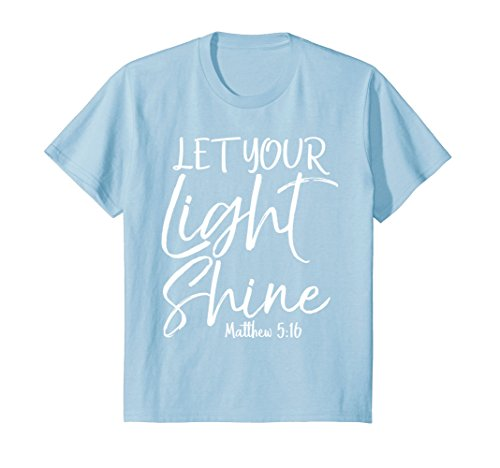 Kids Let Your Light Shine Shirt Vintage Bold Cool