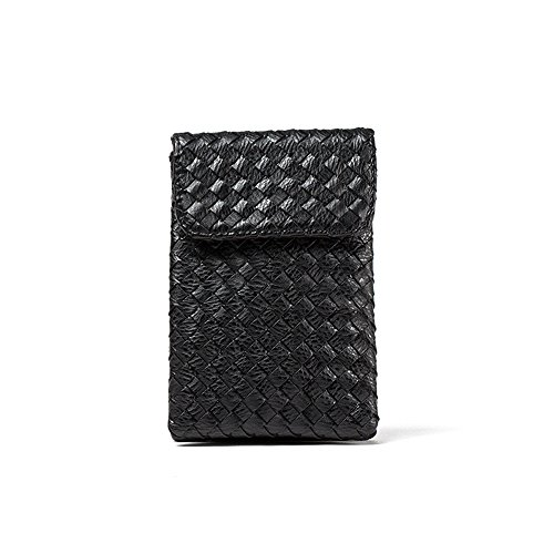 Functional Small 2 For Made Roomy Phone Crossbody Women Bag Pocket black Hand Purse Cell Wallet 5IZwqxOOP