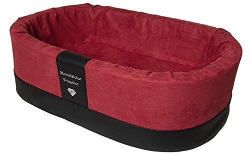 Ortopedico per cani Letto Letto Letto cane koerbchen Stabil Top per cuccioli in rosso bb6402