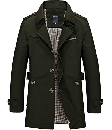 Caldo Casuale Abbigliamento Maschile Trincea Elegante Pile Parka Invernale Presa Ragazzi Maschile Winered Cappotto Lungo Vestito Giacca 4xPw8ttq