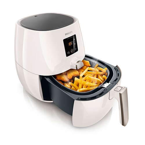 Philips Viva Digital Plus 1425W Multi-Cooker Airfryer HD9238/52 Silver & White