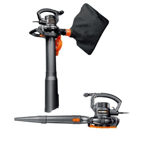 WG507 WORX 12 Amp 2-Speed Electric Blower/Vac/Mulcher