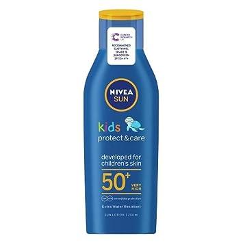 Nivea Sun Children Sun Lotion Spf 50 Long Lasting Water Resistant Immediate