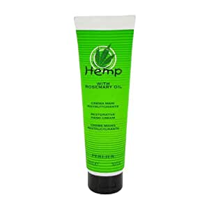 Perlier Hemp With Rosemary Oil by Perlier for Women Restorative Hand Cream 5 Ounce