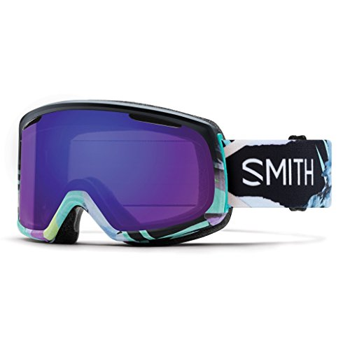 Smith Riot Women's Goggles Emily Hoy ChromaPop Everyday Violet Mirror (Ski Riot)