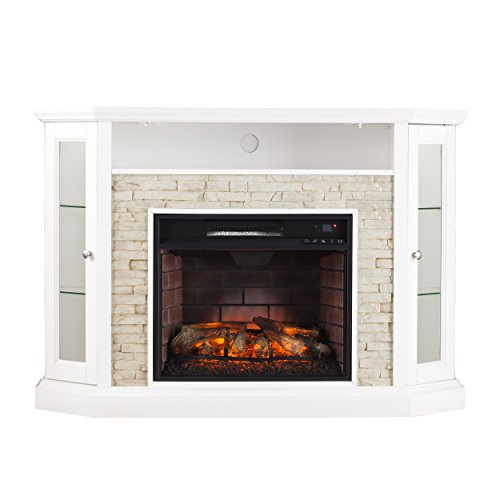 Rollins Convertible Corner Infrared Electric Media Fireplace 52