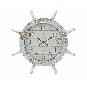 41d8AJJLnJL._SS300_ Coastal Wall Clocks & Beach Wall Clocks