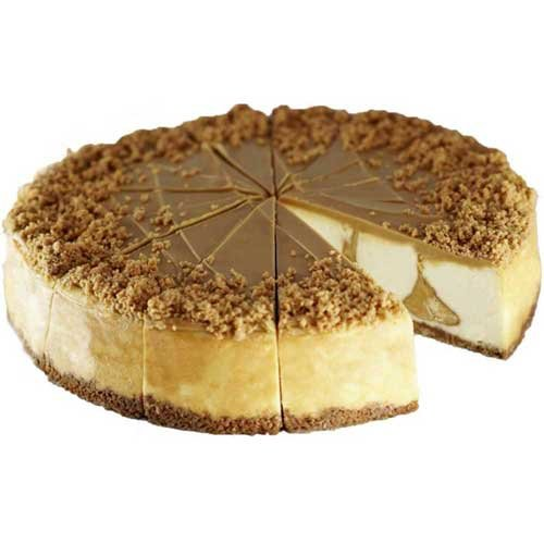 Elis 14 Cut Cookie Butter Cheesecake, 59 Ounce -- 1 each. by Elis Cheesecake