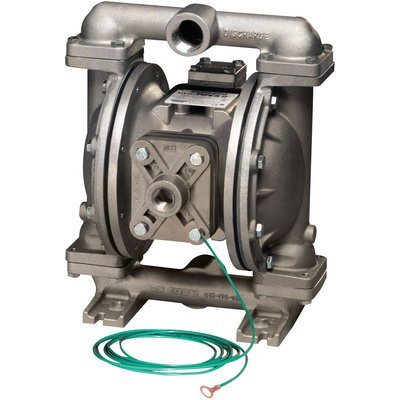 Sandpiper Air-Operated Double Diaphragm Pump - 1in. Inlet, 45 GPM, Aluminum/Buna, Model# U1FB1XBTXNS600