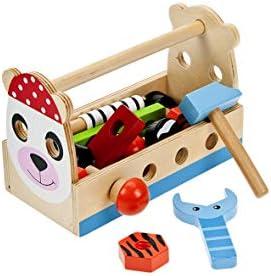 Mousehouse Gifts Juguete de Madera Juego de Herramientas para Caja ...