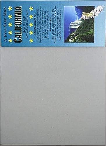 California Road Map Five Star Maps 9781592141050 Amazon Com Books