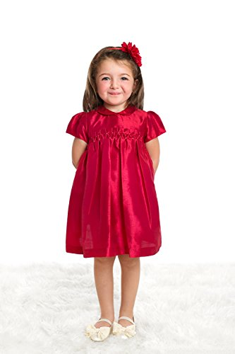 fall smocked dresses for baby - 6