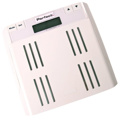 Perfect Fitness Body Fat Scale, White