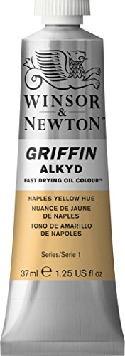 winsor-newton-griffin-alkyd-fast-drying-oil-color-tube-37ml-naples-yellow-hue-by-winsor-newton