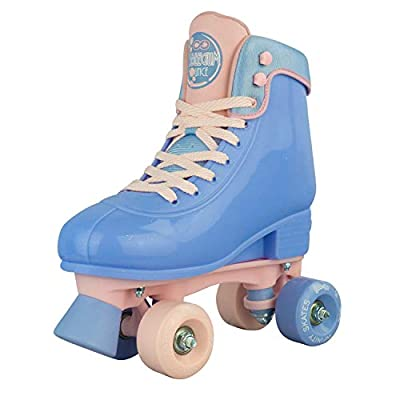 Infinity Skates Adjustable Roller Skates for Girls and Boys - Soda Pop Series (Light Purple/Small) : Sports & Outdoors